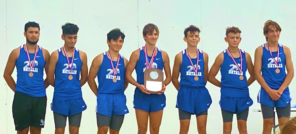 Mustang XC advances to Regional with 3rd place District finish; Noah Gilkey runner-up